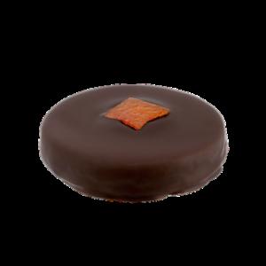 visuel bouchée pistache orange
