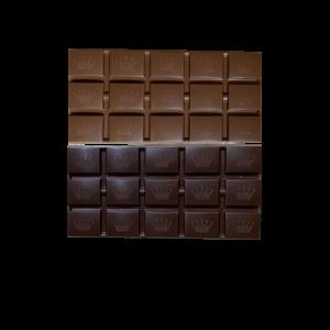 visuel tablette de chocolat noir et lait