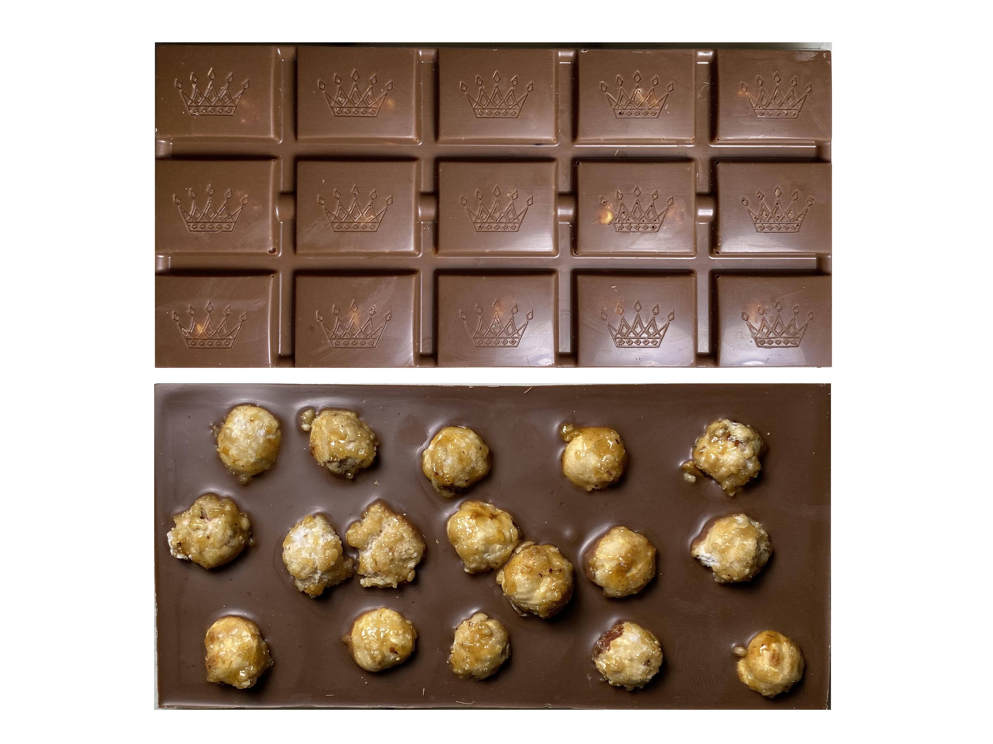 Tablette chocolat - Noisettes caramélisées