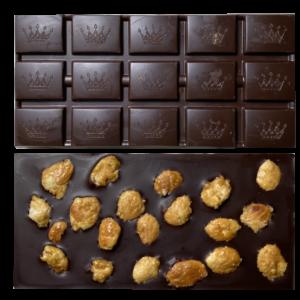 tablette chocolat - amandes