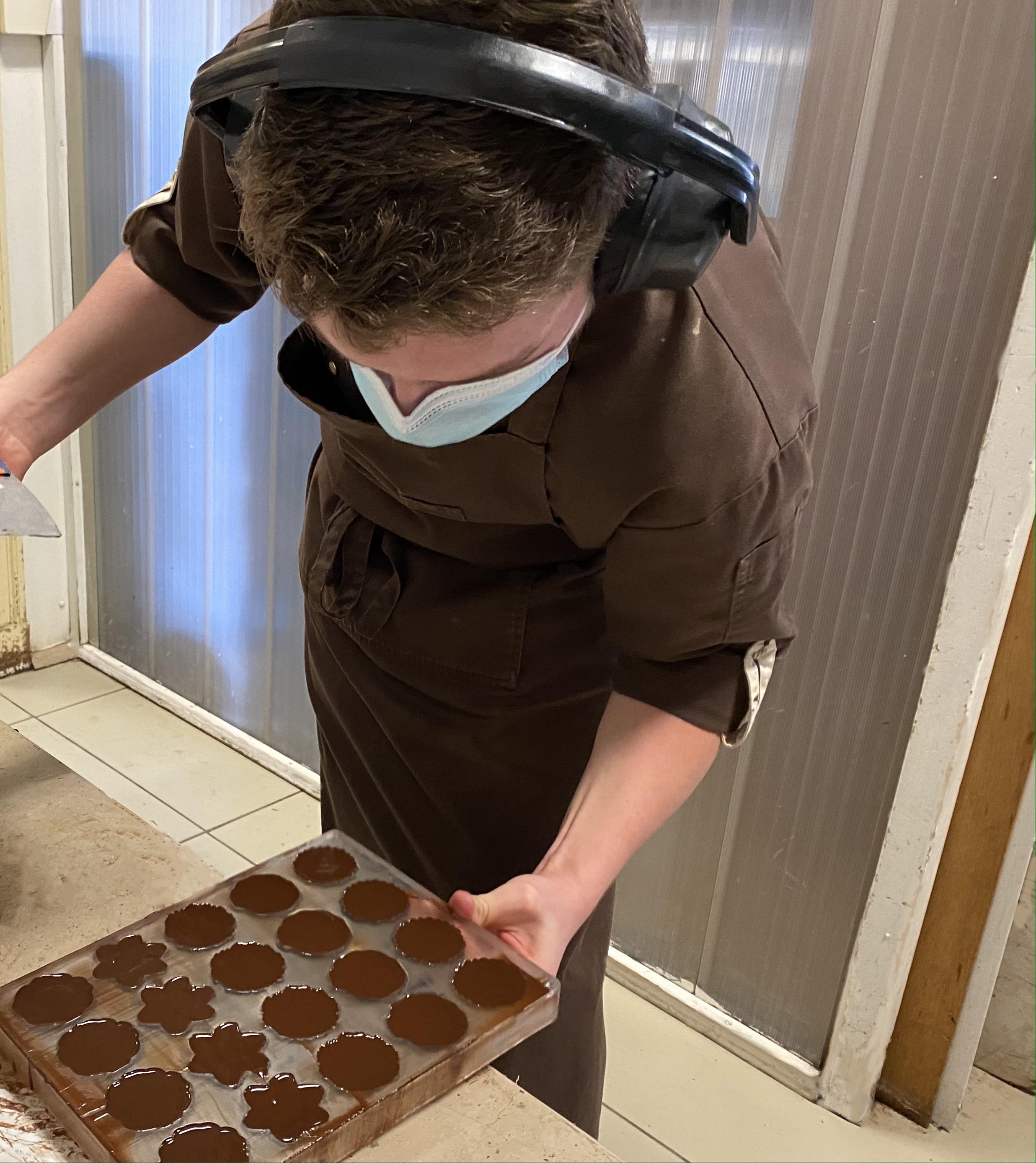 visuel préparation des fleur de cacao
