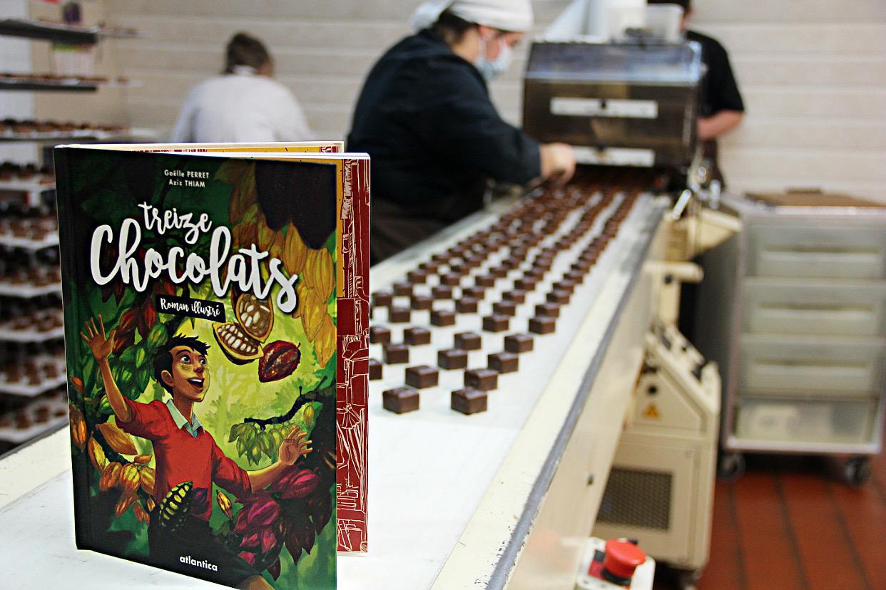 Le livre - Treize chocolats