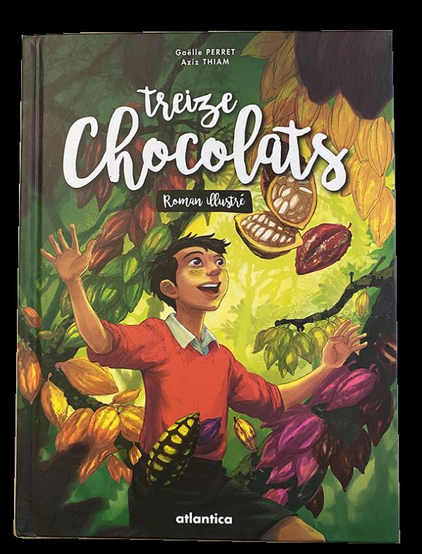 Treize chocolats - Le livre