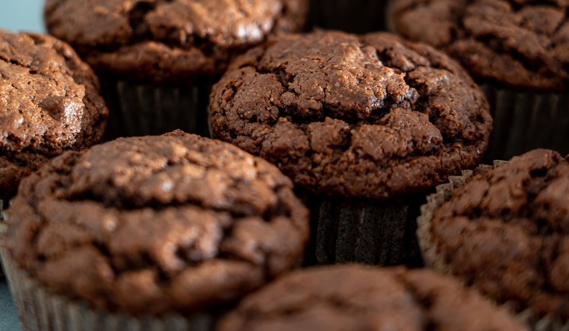 muffins chocolat coeur coulant
