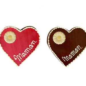 coeur en chocolat - fête des mères